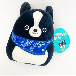 """Squishmallows Tommy Border Collie Dog Plush 5.5"""""""
